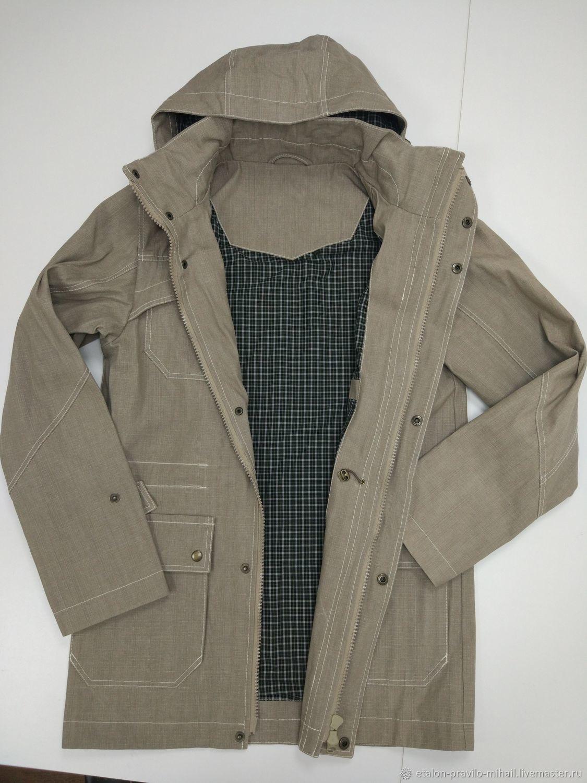 Мужская куртка-парка демисезон, Верхняя одежда мужская, Москва,  Фото №1