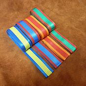 Материалы для творчества ручной работы. Ярмарка Мастеров - ручная работа Ременная лента - 30 мм - стропа - 4 цвета. Handmade.