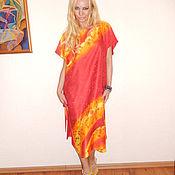 Одежда ручной работы. Ярмарка Мастеров - ручная работа платье-Любовная радуга. Handmade.