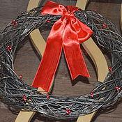 Подарки к праздникам ручной работы. Ярмарка Мастеров - ручная работа Рождественские венки. Handmade.