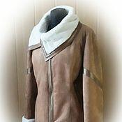 Одежда handmade. Livemaster - original item Sheepskin - faux sheepskin and genuine leather. Handmade.