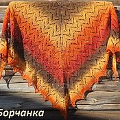 Аксессуары handmade. Livemaster - original item Shawl Rowan knitting needles from 100% wool. Handmade.