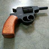 Куклы и игрушки ручной работы. Ярмарка Мастеров - ручная работа Револьвер деревянный. Handmade.