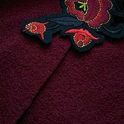 Материалы для творчества ручной работы. Ярмарка Мастеров - ручная работа Шерстяная ткань лоден. Handmade.