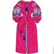 "Одежда handmade. Livemaster - original item Long dress ""Oriental Beauty"". Handmade."