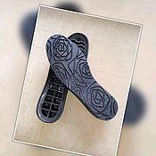 Материалы для творчества handmade. Livemaster - original item No. №16 Sole tha womens for street Sole for shoes. sole for boots. Handmade.