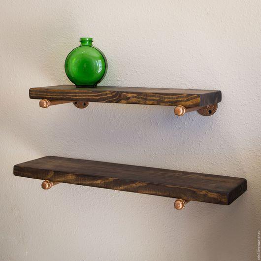 Мебель ручной работы. Ярмарка Мастеров - ручная работа. Купить Полки из дерева. Handmade. Полка, полка для кухни, полка для книг