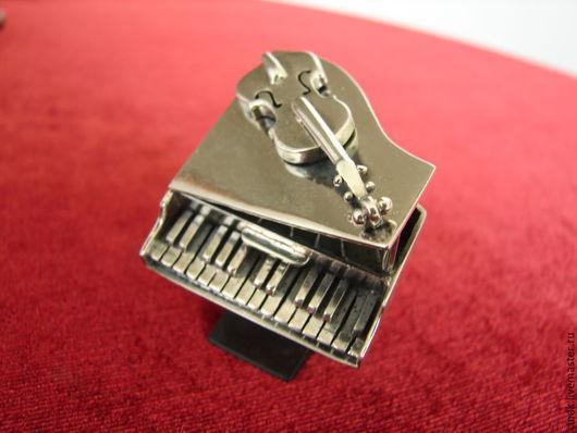 Кольца ручной работы. Ярмарка Мастеров - ручная работа. Купить Кольцо из серебра - мелодия. Handmade. Серебряный, авторская ручная работа