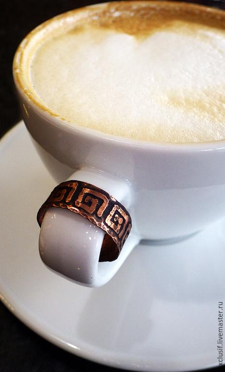"""Кольца ручной работы. Ярмарка Мастеров - ручная работа. Купить Медное кольцо """"Арабика"""". Handmade. Кольцо, украшения из меди"""