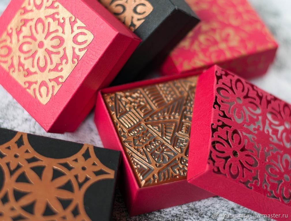 Мыло натуральное ЗОЛОТО МАККЕННЫ мужское мыло в подарочной коробочке, Мыло, Комсомольск-на-Амуре,  Фото №1
