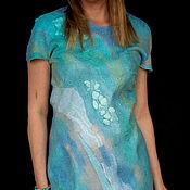 Dresses handmade. Livemaster - original item Slim felted sheath dress.. Handmade.