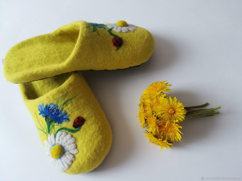 Тапочки: Тапочки летний букет, Обувь, Мариинск, Фото №1