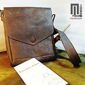 Сумки и аксессуары handmade. Livemaster - original item Bag mens