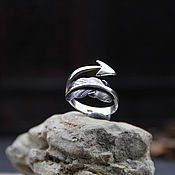 Украшения handmade. Livemaster - original item Arrow Ring of silver 925. Handmade.