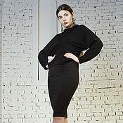 Одежда handmade. Livemaster - original item Pencil skirt of dense knitwear. Handmade.