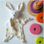 Куклы и игрушки ручной работы. Ярмарка Мастеров - ручная работа Комфортер Зайка. Handmade.