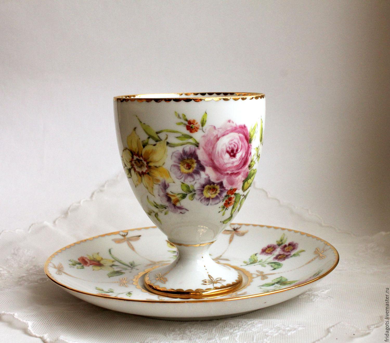The painted porcelain.Decorative vase 'Dragonfly', Single Tea Sets, Kaluga,  Фото №1