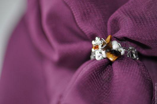 Кольца ручной работы. Ярмарка Мастеров - ручная работа. Купить кольцо  тигровый глаз. Handmade. Коричневый, колечко ручной работы