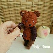 Куклы и игрушки ручной работы. Ярмарка Мастеров - ручная работа Мишка разноцветный. Handmade.