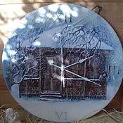 """Для дома и интерьера ручной работы. Ярмарка Мастеров - ручная работа Часы для интерьера  """"Sashobao"""" (Сашобао). Handmade."""