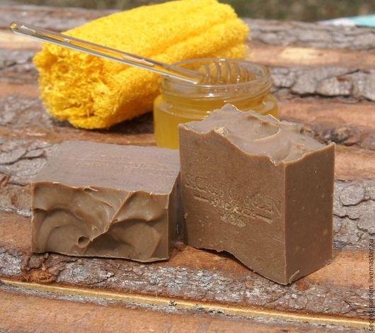 """Мыло ручной работы. Ярмарка Мастеров - ручная работа. Купить Мыло с нуля   """"Мёд & Дёготь"""" при кожных проблемах. Handmade."""