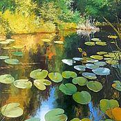 Картины и панно handmade. Livemaster - original item Oil painting Paysager kuvshinok Vladimir Chernov. Handmade.