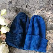 Аксессуары handmade. Livemaster - original item Women`s knitted hat, beanie, pumpkin, autumn, spring. Handmade.
