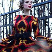 Одежда ручной работы. Ярмарка Мастеров - ручная работа Платье из джерси+пояс в подарок. Handmade.