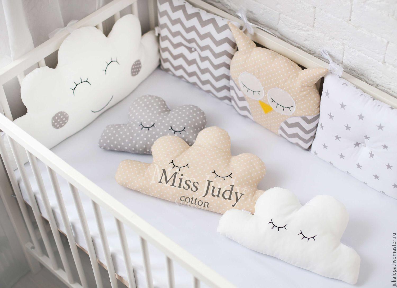 Совушки бортики в кроватку для новорожденных своими руками 83