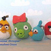 Куклы и игрушки ручной работы. Ярмарка Мастеров - ручная работа Злые Птички. Angry Birds. Handmade.