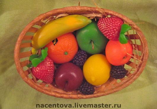 """Мыло ручной работы. Ярмарка Мастеров - ручная работа. Купить Набор мыла """"Фруктово-ягодный коктель - 2"""". Handmade."""