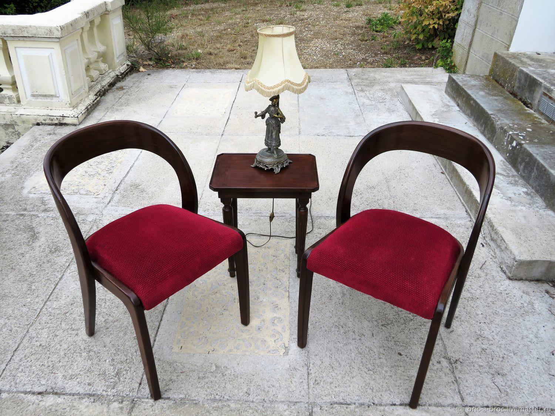Винтаж: Винтажные дизайнерские кресла в стиле Ар Деко (Франция), Мебель винтажная, Москва,  Фото №1