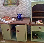 """Мебель для кукол ручной работы. Ярмарка Мастеров - ручная работа Мебель для кукольного дома """"Оливковое настороение"""" мебель для кукол. Handmade."""