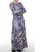 Одежда ручной работы. Ярмарка Мастеров - ручная работа Платье в пол Пейсли. Handmade.