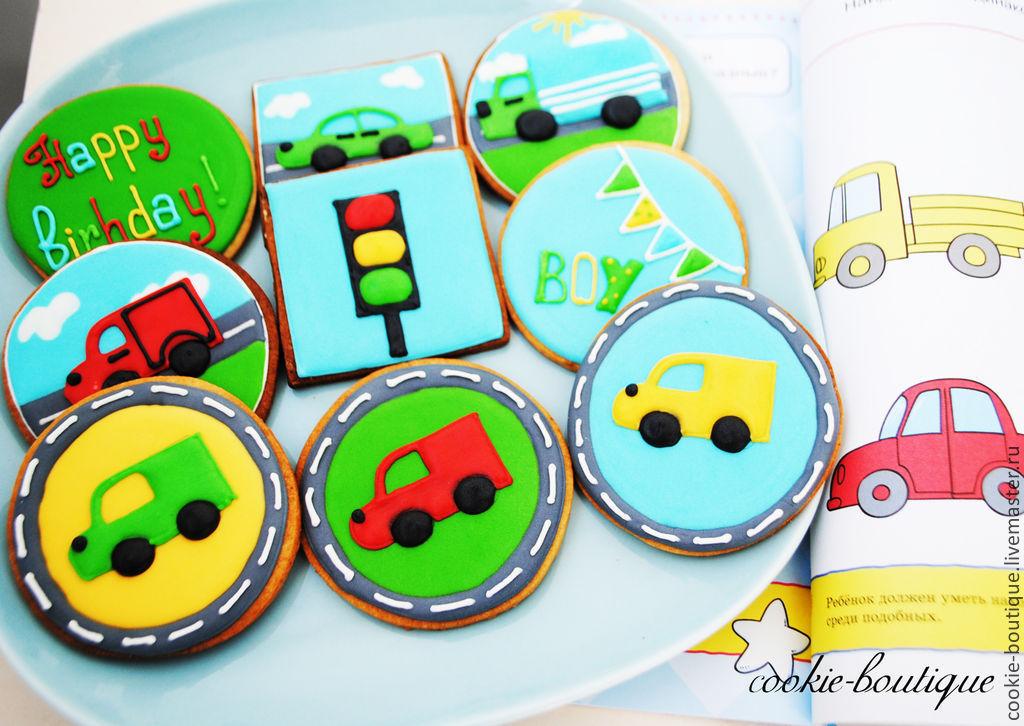 Имбирное печенье машинки