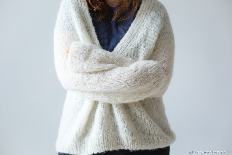 Пуловер из нежной пушистой шерсти альпака - под заказ, Пуловеры, Санкт-Петербург,  Фото №1