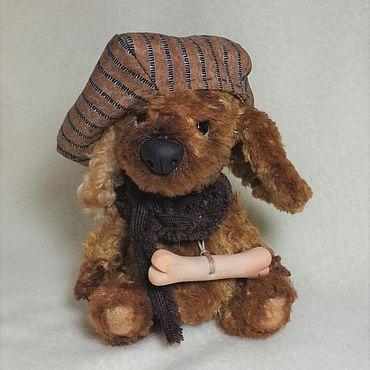 Куклы и игрушки ручной работы. Ярмарка Мастеров - ручная работа Боня.  Щенок Тедди. Handmade.
