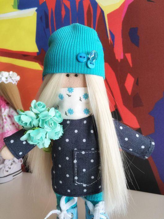 Куклы Тильды ручной работы. Ярмарка Мастеров - ручная работа. Купить Интерьерная Кукла Снежинка. Handmade. Интерьерная кукла