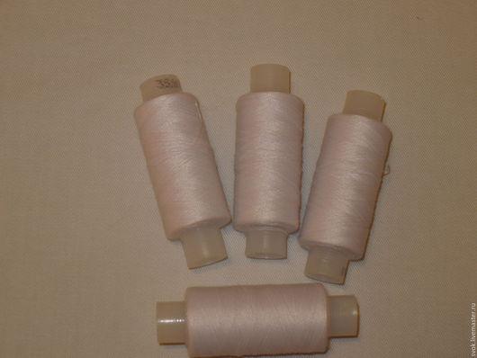 Шитье ручной работы. Ярмарка Мастеров - ручная работа. Купить Нитки для шитья 35ЛЛ, белый, Россия. Handmade. Белый