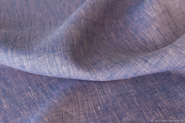 Шитье ручной работы. Ярмарка Мастеров - ручная работа. Купить Плательно-блузочный лен (Loro Piana). Handmade. Одежда, шорты