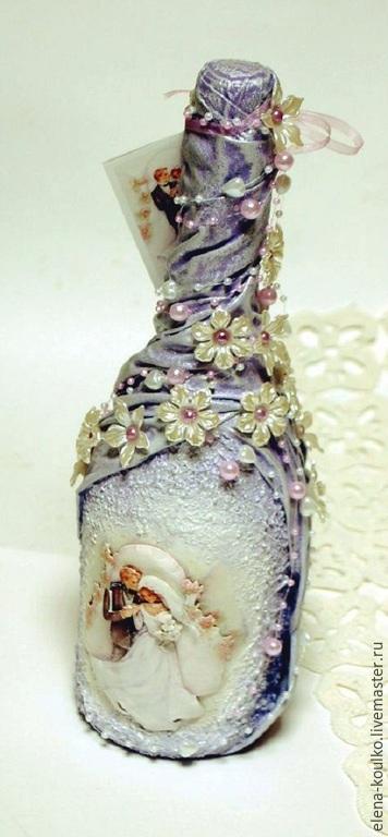 Подарки на свадьбу ручной работы. Ярмарка Мастеров - ручная работа. Купить Декор к свадьбе. Handmade. Сиреневый, винтаж, декупажные материалы
