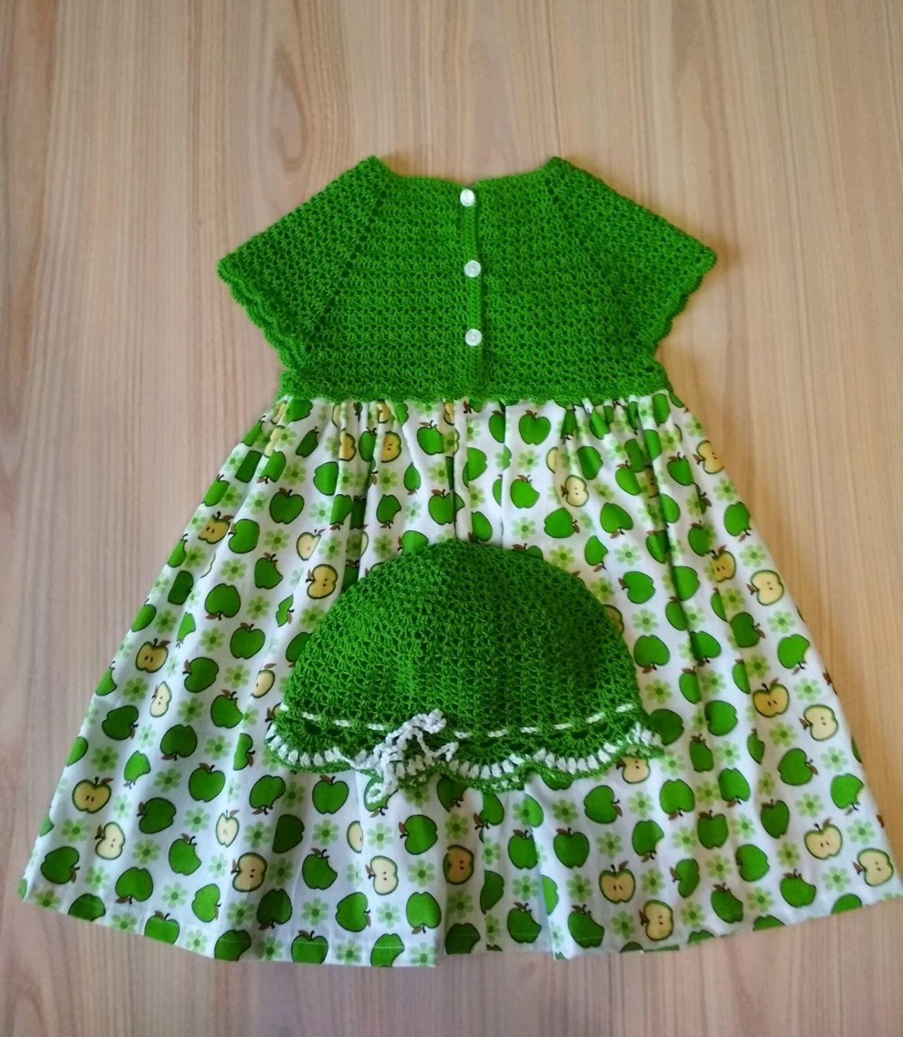 Платье для девочки Яблочко