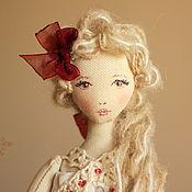 Куклы и игрушки ручной работы. Ярмарка Мастеров - ручная работа Летиция, авторская текстильная кукла. Handmade.