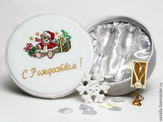 Новый год 2017 ручной работы. Ярмарка Мастеров - ручная работа. Купить Подарок на Рождество. Handmade. Подарок к Рождеству, рождественский подарок