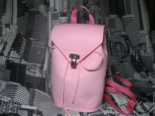 Рюкзаки ручной работы. Ярмарка Мастеров - ручная работа. Купить Sissy (Неженка). Рюкзак молодежный. Handmade. Розовый рюкзак, пудровый