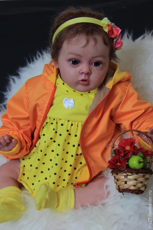 Куклы-младенцы и reborn ручной работы. Ярмарка Мастеров - ручная работа. Купить Малышка Тиффани!. Handmade. Разноцветный, Стеклогранулят