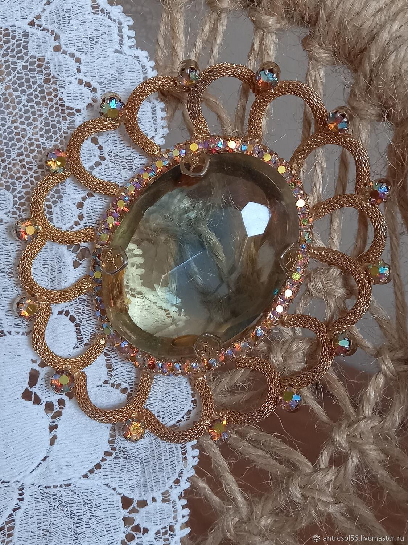 Vintage brooch ' Fantastic flower', Vintage brooches, Orenburg,  Фото №1