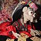 Коллекционные куклы ручной работы. Коллекционная кукла Цыганка. Ирина Егорова (kaleidoskope). Интернет-магазин Ярмарка Мастеров. ирис