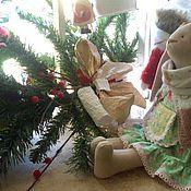 Куклы и игрушки ручной работы. Ярмарка Мастеров - ручная работа Текстильный заяц. Тильда.. Handmade.