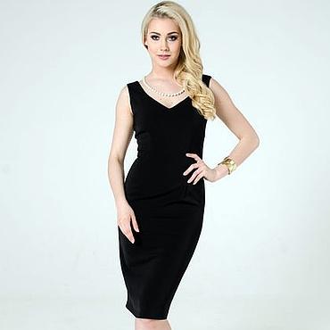 Одежда ручной работы. Ярмарка Мастеров - ручная работа Маленькое черное платье, вечернее платье. Handmade.